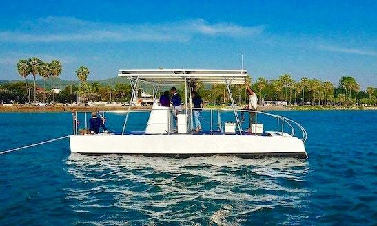 Charter A Solar Catamaran On Koh Mak Trat, Thailand