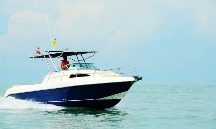 Motor Yacht Sea Hawk Activities in Jalan Persiaran Putra, Malaysia
