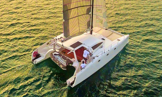 Stealth 38ft Catamaran For Rent In Phuket Or Krabi, 12 Guests For A Day / 6 For A Night