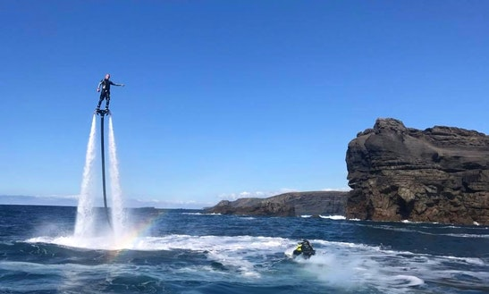 Enjoy Flyboarding In Kilkee, Ireland