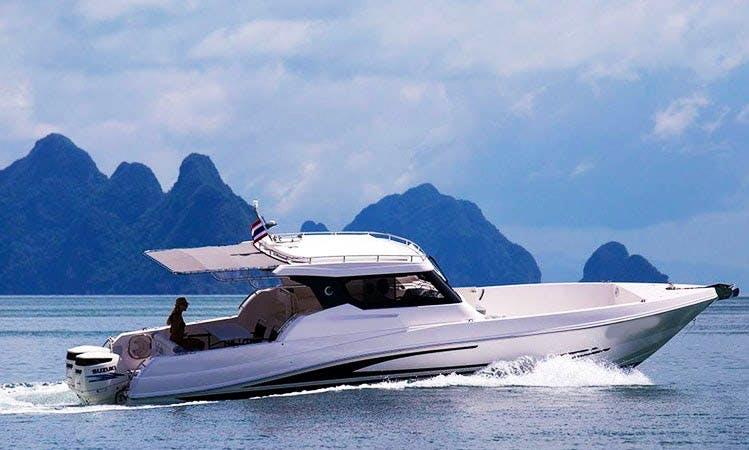 Explore Phuket, Thailand on 36' Motor Yacht