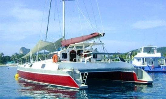 Crewed Charter On 48ft