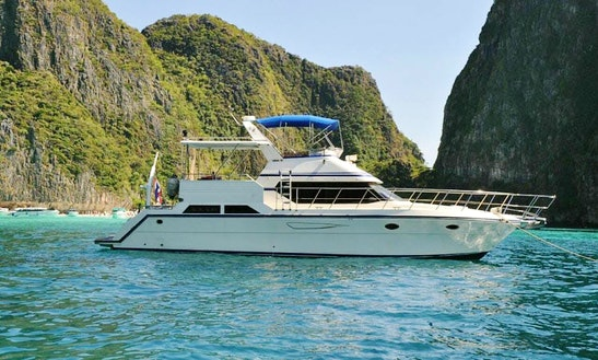 Captained Charters On 48' Motor Yacht In Tambon Chalong