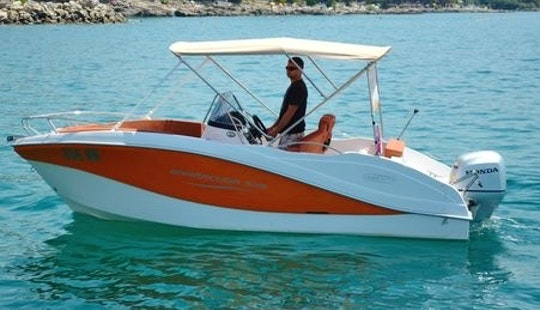 Rent 18' Okiboats 356 Center Console In Krk, Croatia