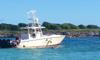 Enjoy Fishing in Grande-Terre, Guadeloupe on a Center Console