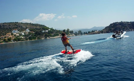 Enjoy Wakeboarding In Tolo, Greece