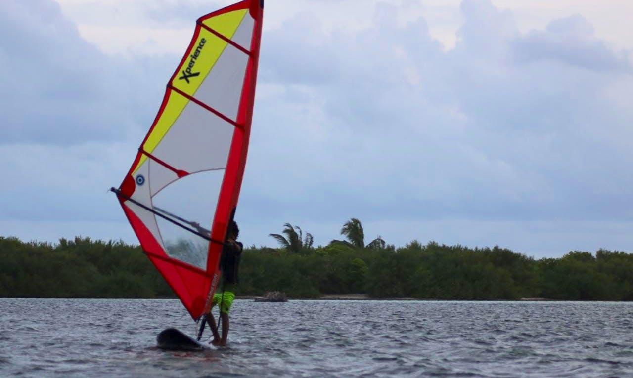 Enjoy Windsurfing in Addu City, Maldives