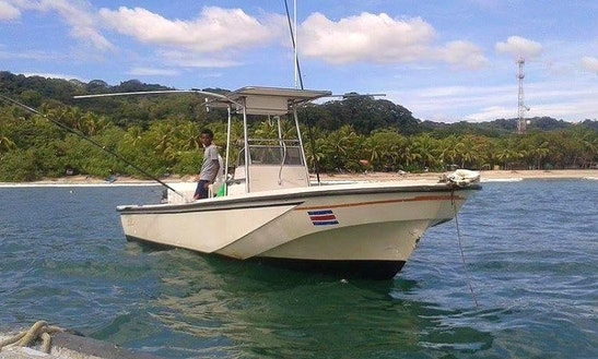 Enjoy Fishing In Provincia De Guanacaste, Costa Rica On Center Console