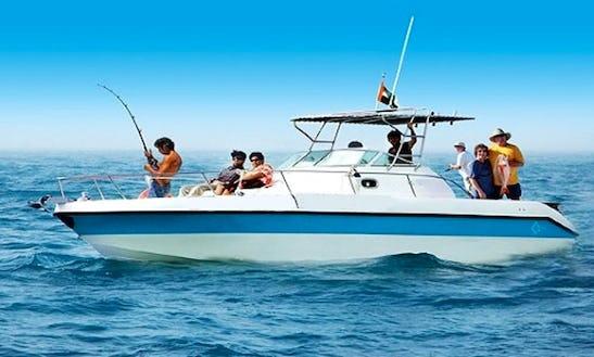 Fishing Charter On 33' Overmarine Sport Fisherman Yacht In Dubai, Uae