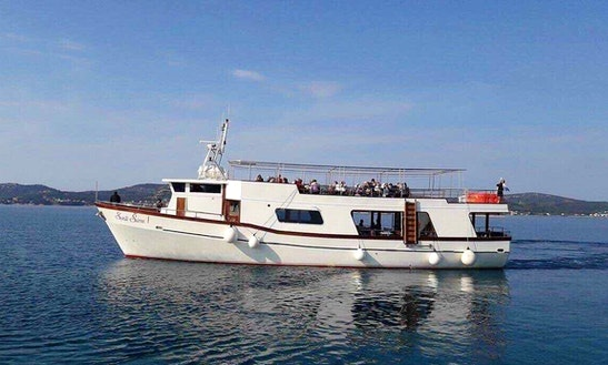 Charter Sveti Šime I Passenger Boat In Biograd Na Moru, Croatia