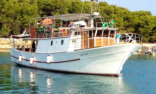 Charter Sveti Šime Passenger Boat In Biograd Na Moru, Croatia
