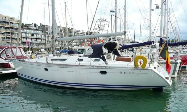"Sailing Charter On 42ft ""Tanaco"" Jeanneau Sailing Yacht In Nieuwpoort, Belgium"