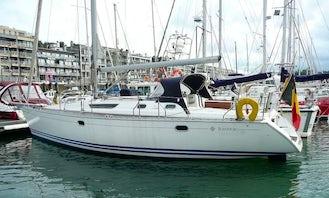 "Sailing Charter On 42ft ""Tanaco"" Jeanneau Sailing Yacht In Nieuwpoort, Belgium"