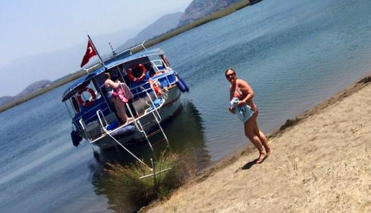 Charter A Passenger Boat In Dalyan, Turkey