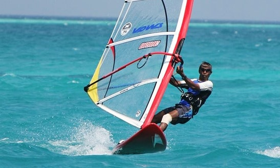 Enjoy Windsurfing In South Ari Atoll, Maldives