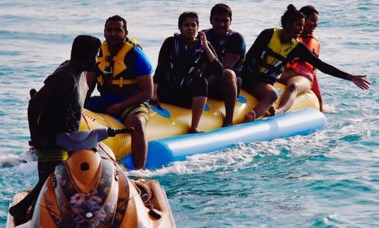 Enjoy Tube Rides In Malé, Maldives