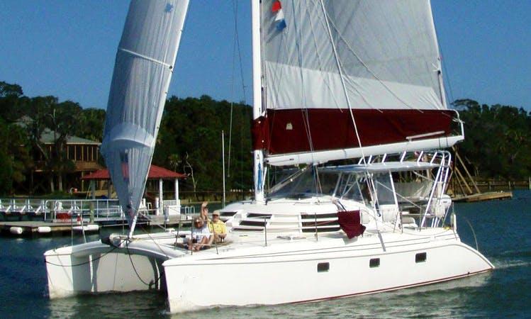 42' Cruising Catamaran Charter in Jacksonville, Florida