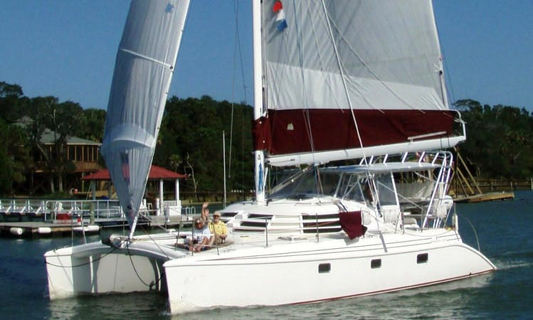 42' Cruising Catamaran Charter in Jacksonville, Florida