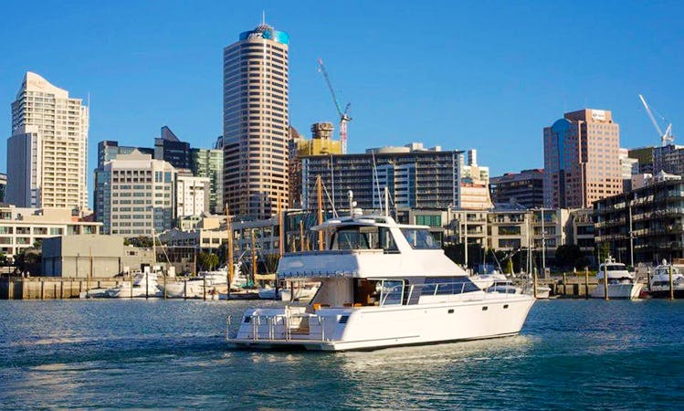 """Escape"" 55ft Luxury Catamaran, Auckland New Zealand"