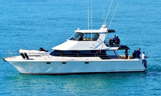 Charter A 54' Escape Power Catamaran In Auckland, New Zealand