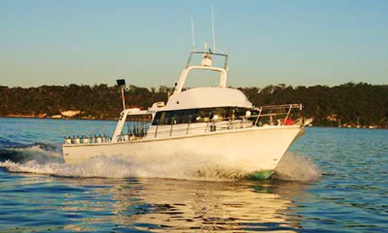 Enjoy Fishing In Guildford, Australia On 55' Avalon Iv Sport Fisherman