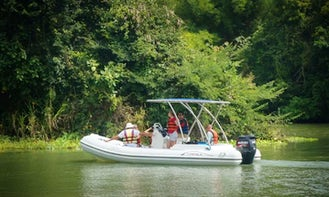 Charter a Rigid Inflatable Boat in Panama City, Panama