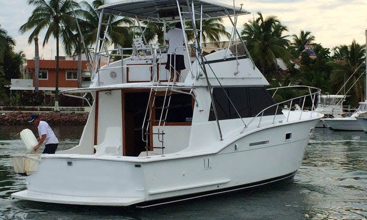 "Fishing Charter 42ft ""Isabella II"" Sport Fisherman Yacht In Nuevo Vallarta, Mexico"