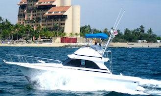 Bertram 38' Fishing Boat in Puerto Vallarta