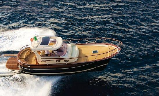 Charter The Gozzo Fratelli Aprea 36 Hard Top In Sorrento, Italy
