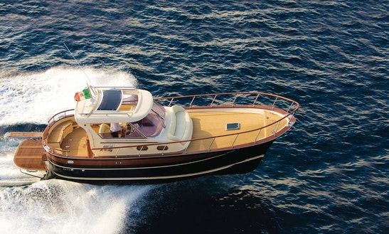 Charter The Gozzo Fratelli Aprea 36 Hard Top In Sorrento, Italy
