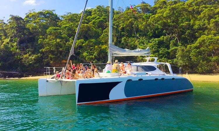 "Sydney Harbour Sailing on ""Barefoot"" Catamaran"