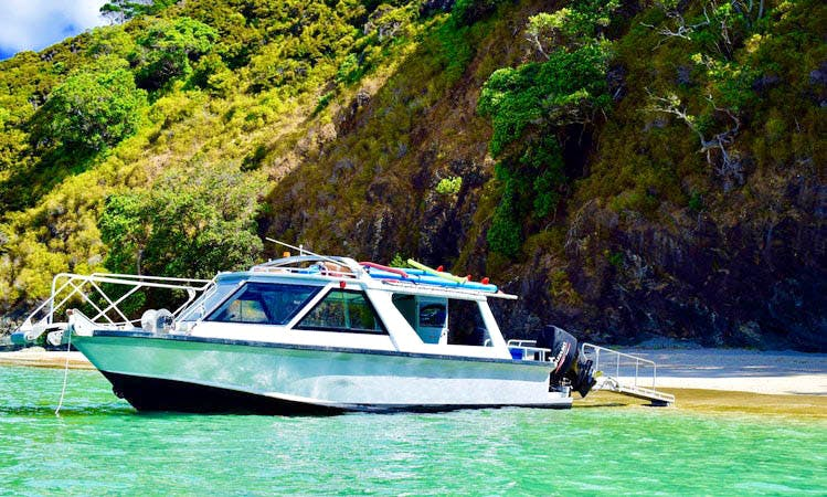 Private Charters and Water Taxi Tours in Bay of Islands, NZ