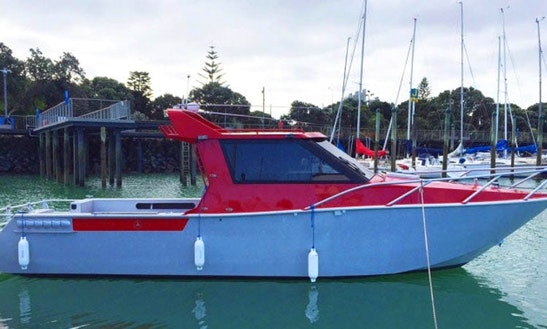 33' Mv Reel Action Fishing Boat Charter In Auckland