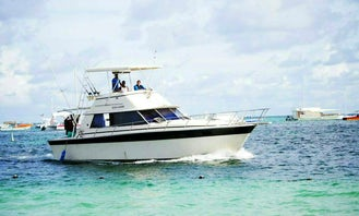 Sport Fisherman Sleep Aboard Rental in Punta Cana