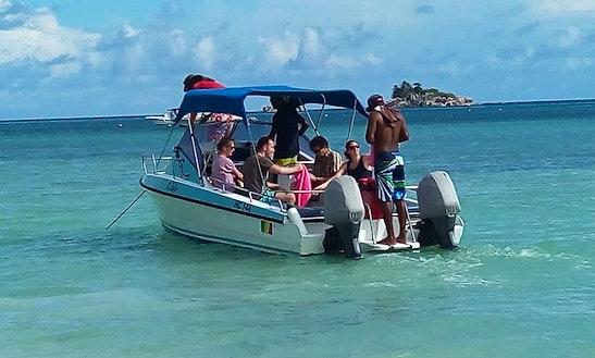 Charter A Cuddy Cabin In Baie Sainte Anne, Seychelles