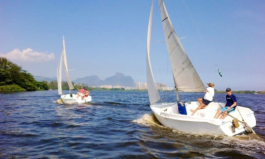 Enjoy A Sailing Charter On A Microtoner 19´ In Barra Da Tijuca, Rio De Janeiro, Brazil