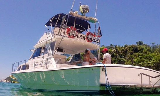 32ft Sport Fisherman For Rent In Ilhabela