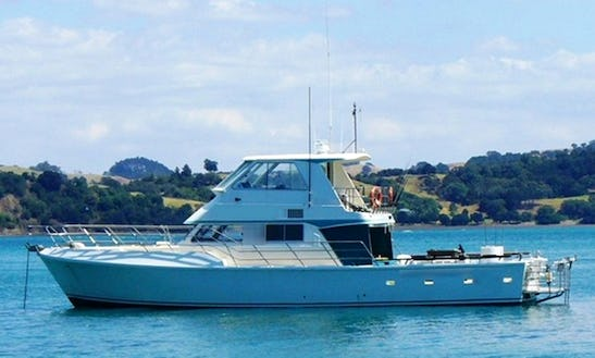 Ultimate Auckland Snapper Fishing Charter On 57ft Fishing Yacht