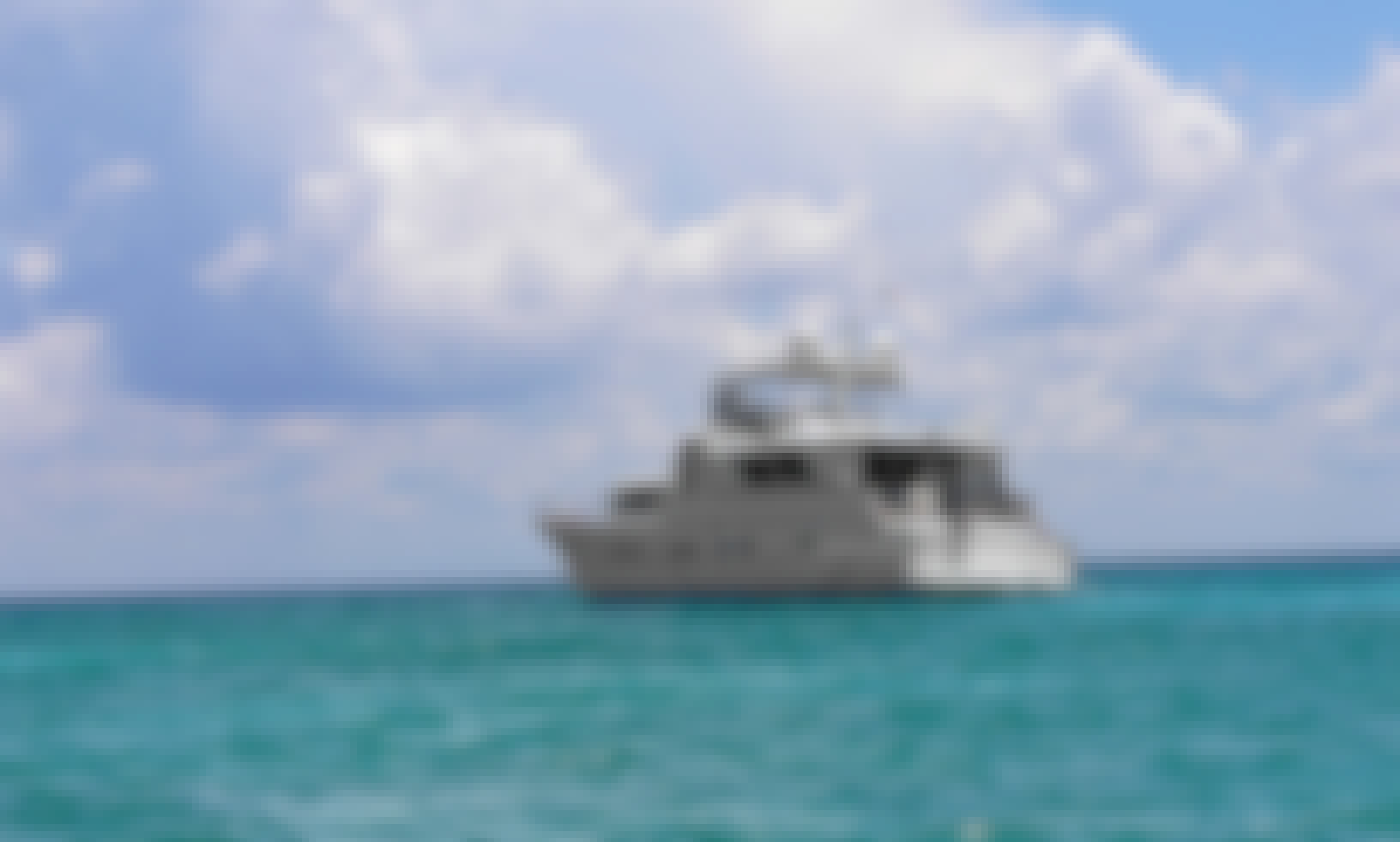 Experience a Fully Equipped 80' Power Mega Yacht near Akumal, Quintana Roo