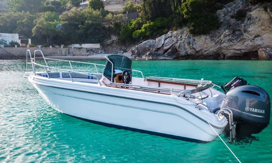 Rent Oneiro Speed Boat In Paleokastritsa, Greece