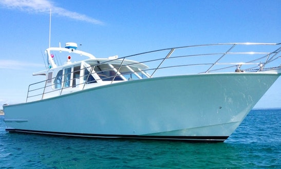 Charter 48' Sport Fisherman Don Senior In Auckland, New Zealand