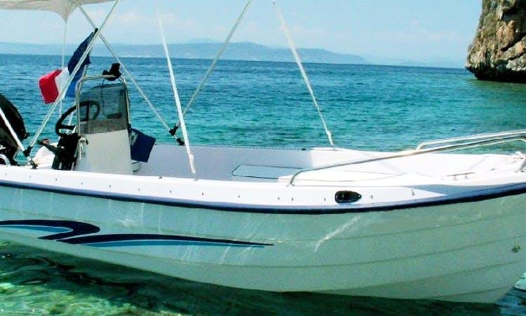 Motorboat rental Sivota Lefkada