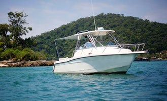 Enjoy Fishing in Angra dos Reis, Brazil on a Center Console