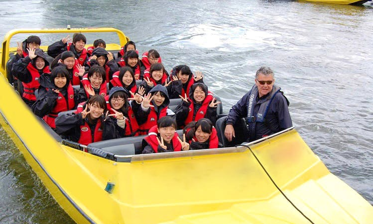 Amazing Jet Boat Tour in Rotorua, New Zealand for up to 57 people