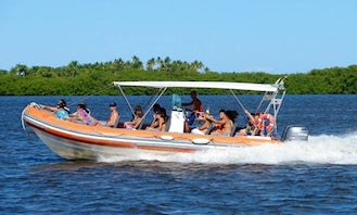 Amazing and Fun Boat Rides for 20 People in Bahia, Brazil