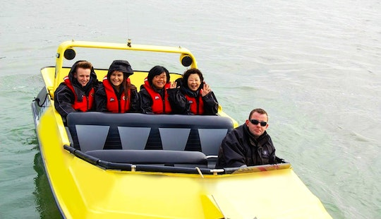 Feel The Rush On A Boat Tours In Rotorua, New Zealand