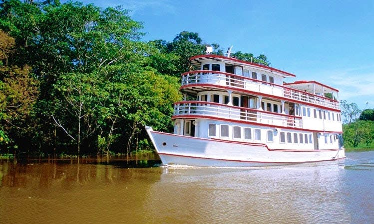 Brazil's Best Amazon River Cruise On M/Y Tuscano With Exceptional Guides