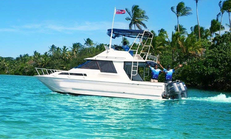 Fishing Charter rental in Cuvu, Sigatoka, Fiji