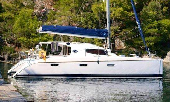 Sailing 'hermes' Nautitech 40 Charter In Marmaris