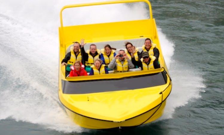 Rakaia Gorge Jet Boat Tour